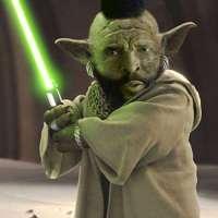 Mr. T plus Yoda?