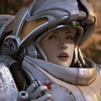 StarCraft II Medic Fan Art (SFW)