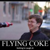 Flying coke