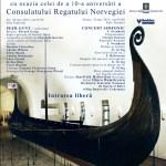 Afis Zilele Culturii Norvegiene