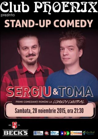 Sergiu Toma Stand-up Comedy
