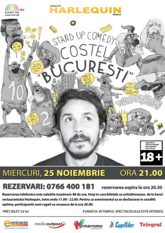 Stand up Costel Bucuresti