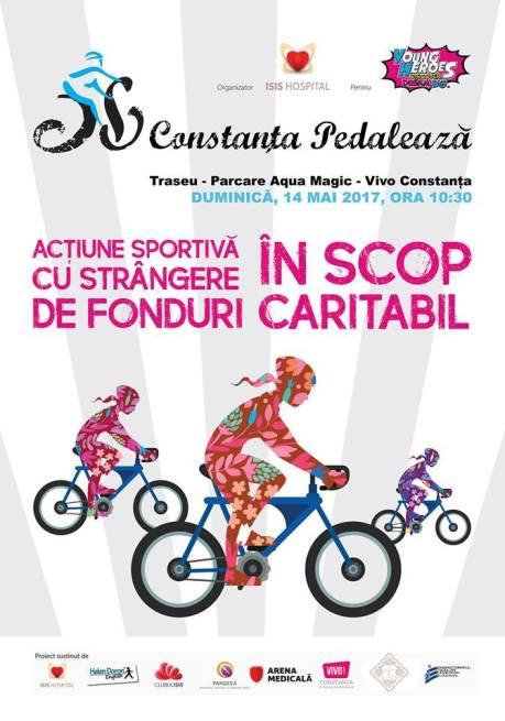 constanta pedaleaza