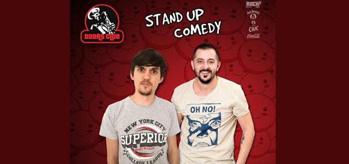 Stand Up Comedy cu Gabriel Gherghe şi Petrică Istoc, la Doors