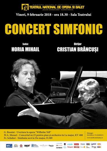 Concert simfonic TNOB Oleg Danovski Constanta