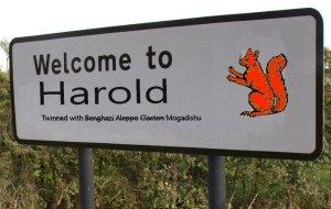 Harold sign