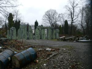 Stonehenge wasteland