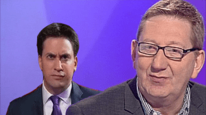 The leader of the Labour party set to disown Ed Miliband