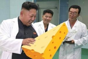 Kim Jong-Un being primed
