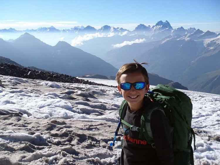 Tyler Armstrong has climbed three of the 7 Summits.
