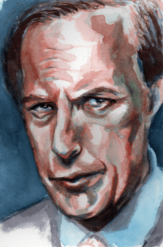 The Lawyer in Watercolor