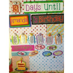 Stylized Her Children You Because It Is A Reusable Birthday Board Events To Things To Do On Your Birthday As A Teenager Things To Do On Your Birthday She Made This Birthday Board I Want To Shareit Nyc ideas Fun Things To Do On Your Birthday