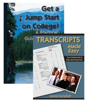 Get a jump start on college with the Transcripts Made Easy and Get a ...