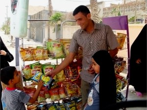 Abdul-Ameer, Iraqi Youth Initiative Beneficiary