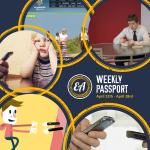 Weekly Passport: Lunch Breaks, Distracted 'Rents, and Tech-Induced Learnophobia