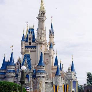 I've spent the last 6 months planning for our trip to Disney World! I can't wait to see the castle again!