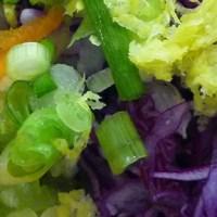 Farro & Vegetable Salad w/ Lemon Cilantro Vinaigrette