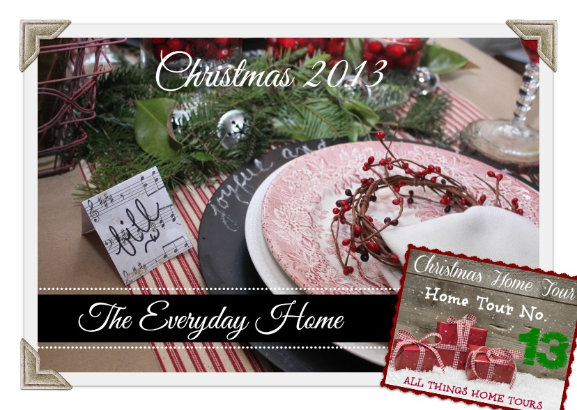 The Everyday Home Christmas Home Tour | The Everyday Home | www.everydayhomeblog.com