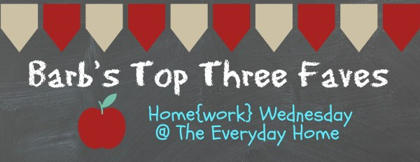 Home{work} Wednesday at The Everyday Home