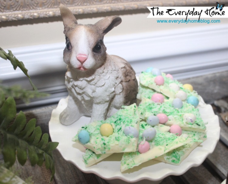 Spring Dessert Vignette by The Everyday Home #Spring #Easter #Vignette #Dessert #DollarTree