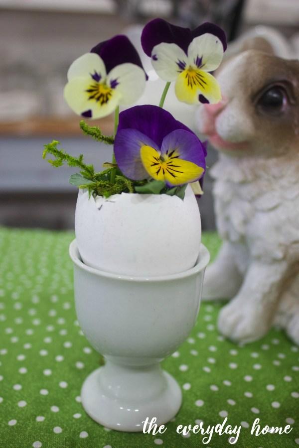 Eggcup Spring Planter