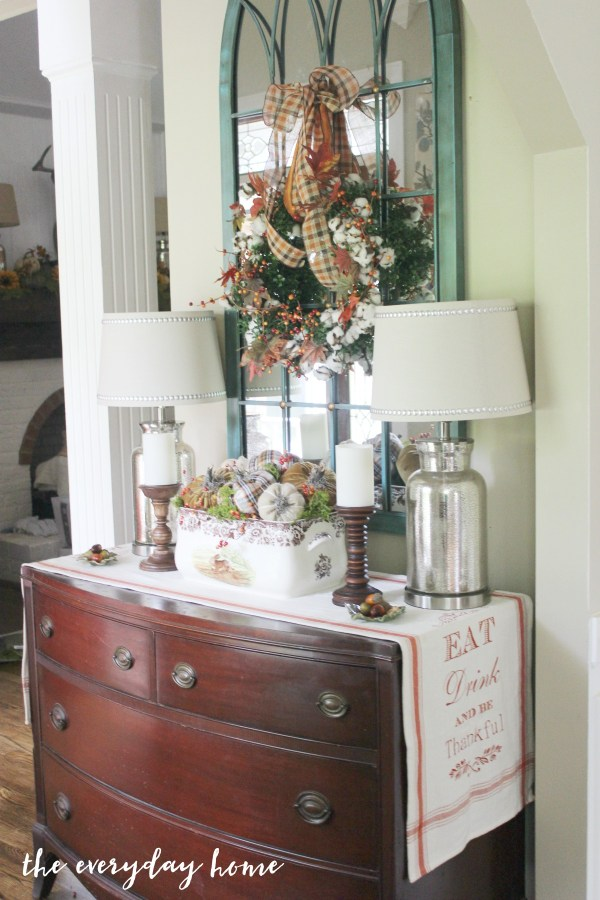 fall-foyer | The Everyday Home | www.everydayhomeblog.com