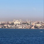 Blue Mosque on the Bosphorus in Istanbul