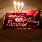 Oceania's birthday cake