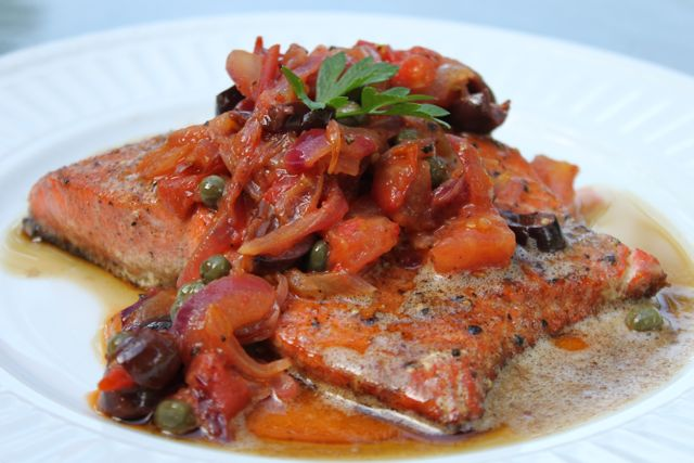 Paleo Poached Salmon I