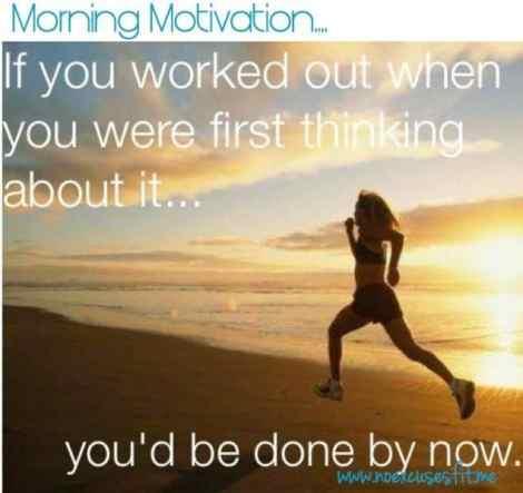 good morning motivation running