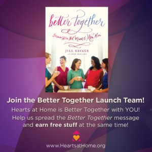 Better Together Launch Team :: EverydaySmallThings.com
