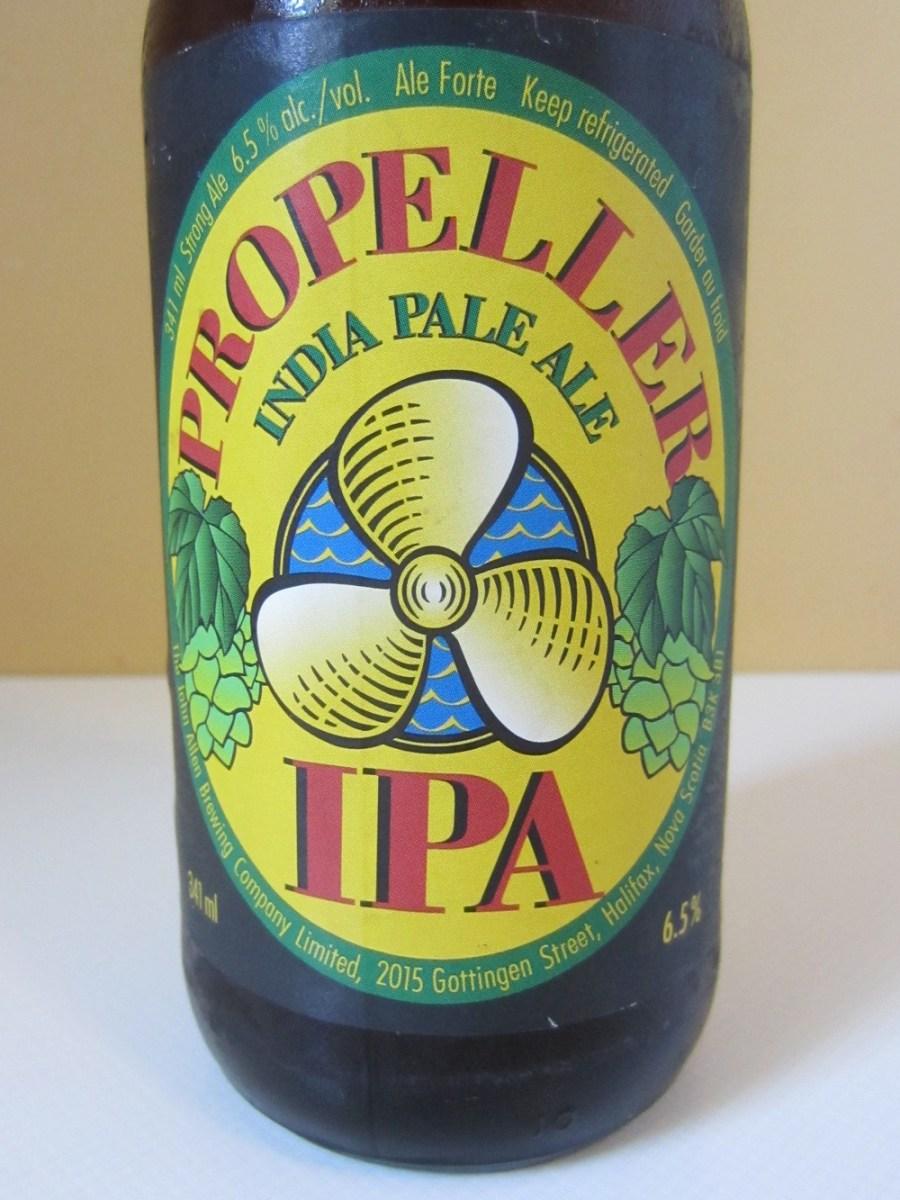 Propeller IPA label