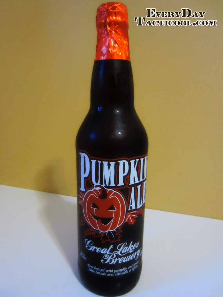 Pumpkin Ale Bottle