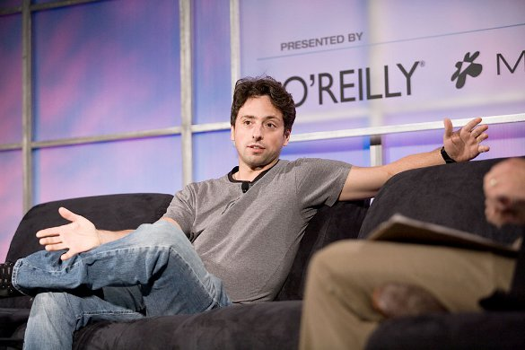 Sergey Brin - courtesy Wikipedia