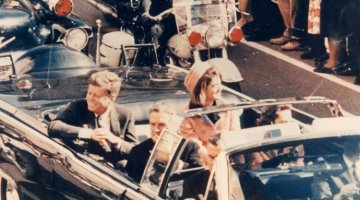 JFK and Mrs. Kennedy