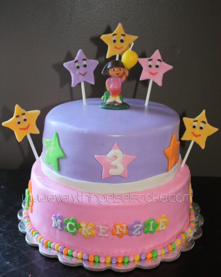 Dora The Explorer Birthday Cakes. .Birthday Cake Images Edit Name