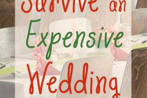 Getting bombarded with wedding invitations? Here's a few tips on how you can survive an expensive wedding situation without busting your budget.