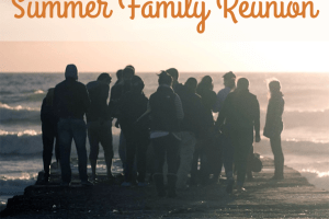 how to save money on a summer family reunion