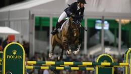 McLain Ward and HH Azur. Photos © Sportfot