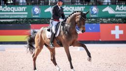 FEI Grand Prix - Steffen Peters and Rosamunde. Photo Credit: ©SusanJStickle