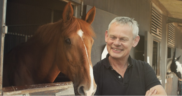 Martin Clunes Stars in New Documentary on Horse & Country TV