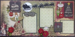 Scrapbook Layout with Michelle @ Everything Scrapbook & Stamps | Lake Worth | Florida | United States