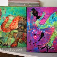 Play-Transform: Mixed Media Collage - Nathalie Kalbach