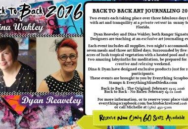 Back to Back Art Retreat 2016