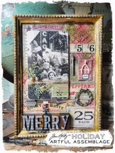 Tim Holtz Holiday Artful Assemblage @ Everything Scrapbook & Stamps | Lake Worth | Florida | United States