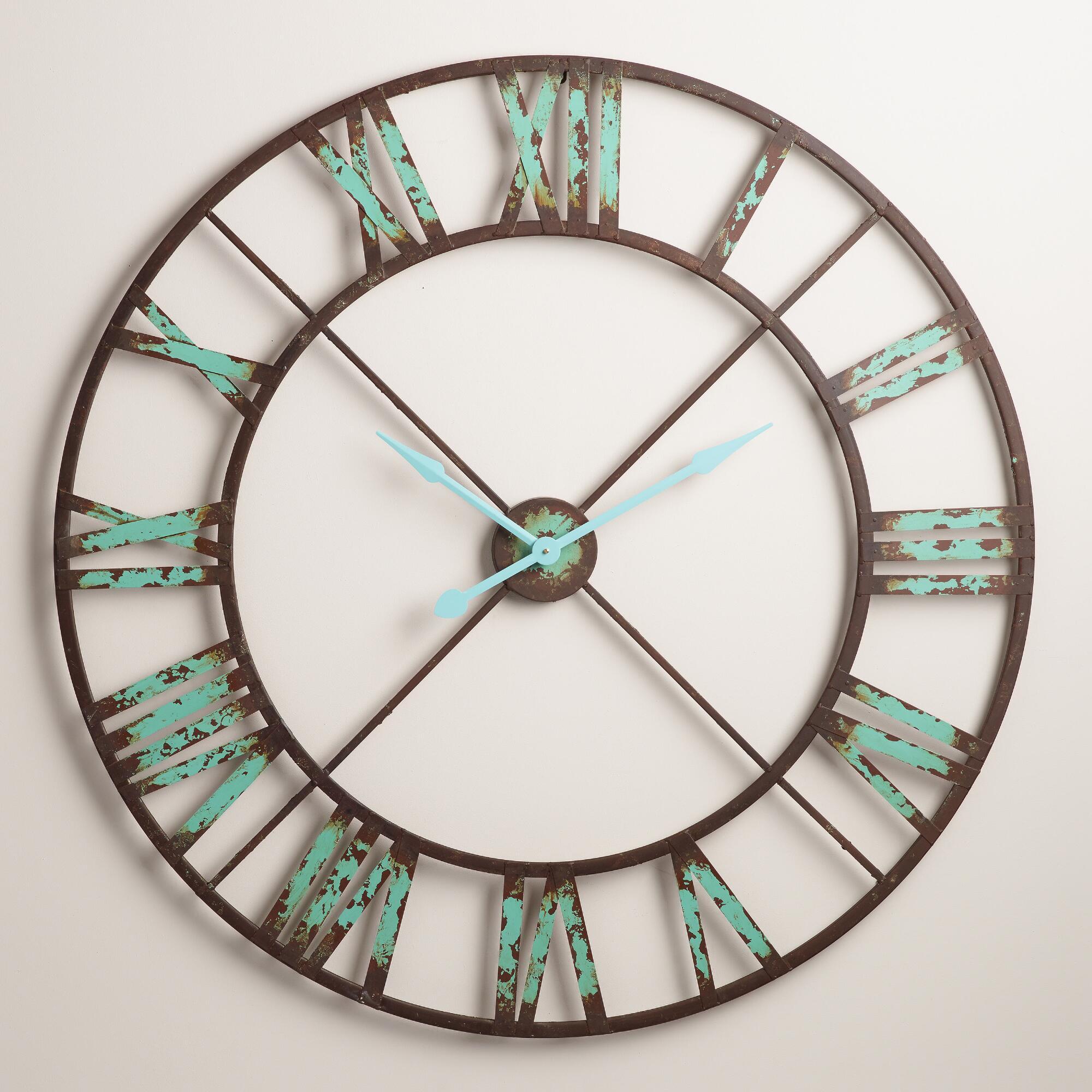 Fullsize Of Wall Clock Industrial