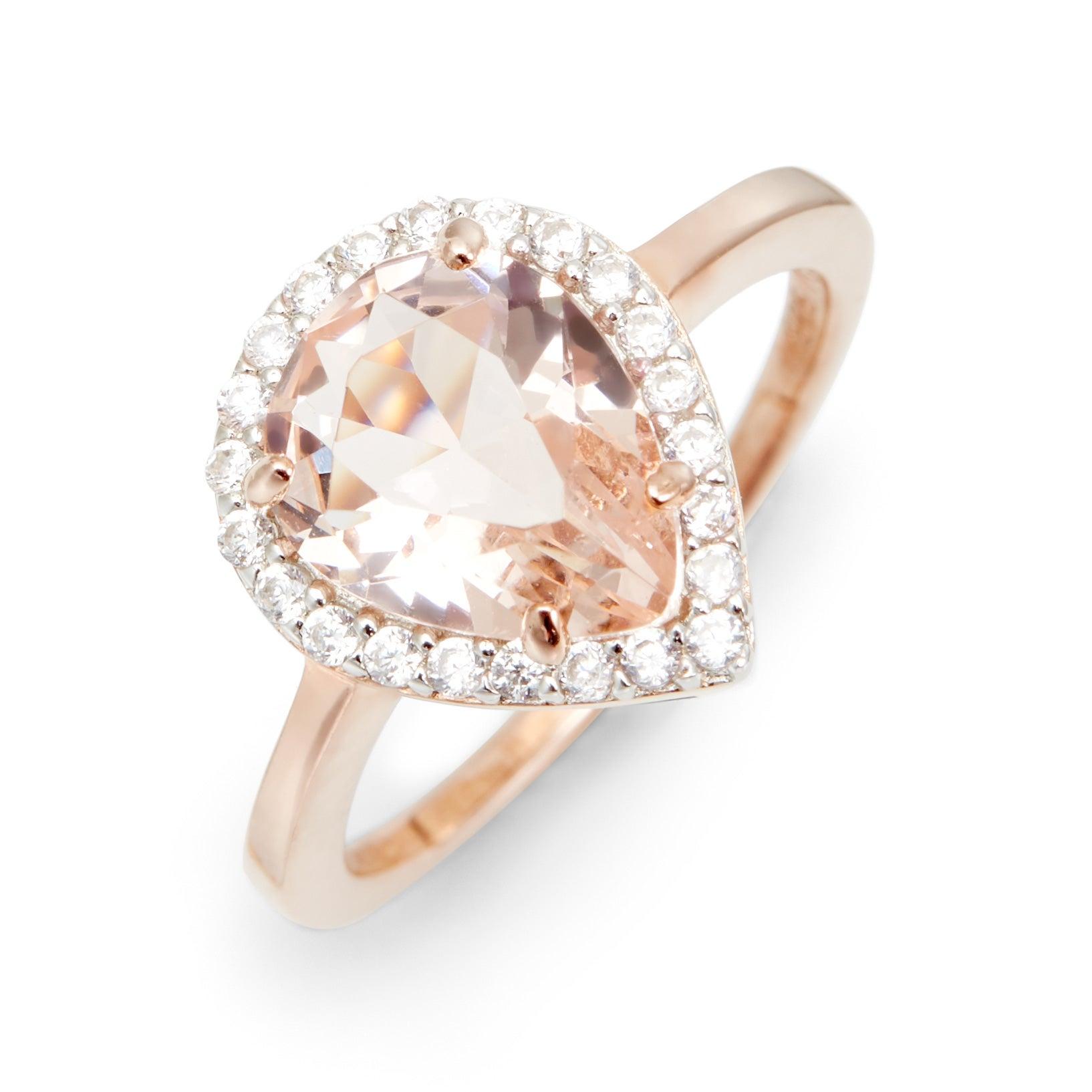 Fullsize Of Morganite Rose Gold Ring