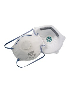 30124 P2 Dust, Mist & Welding Mask with Valve