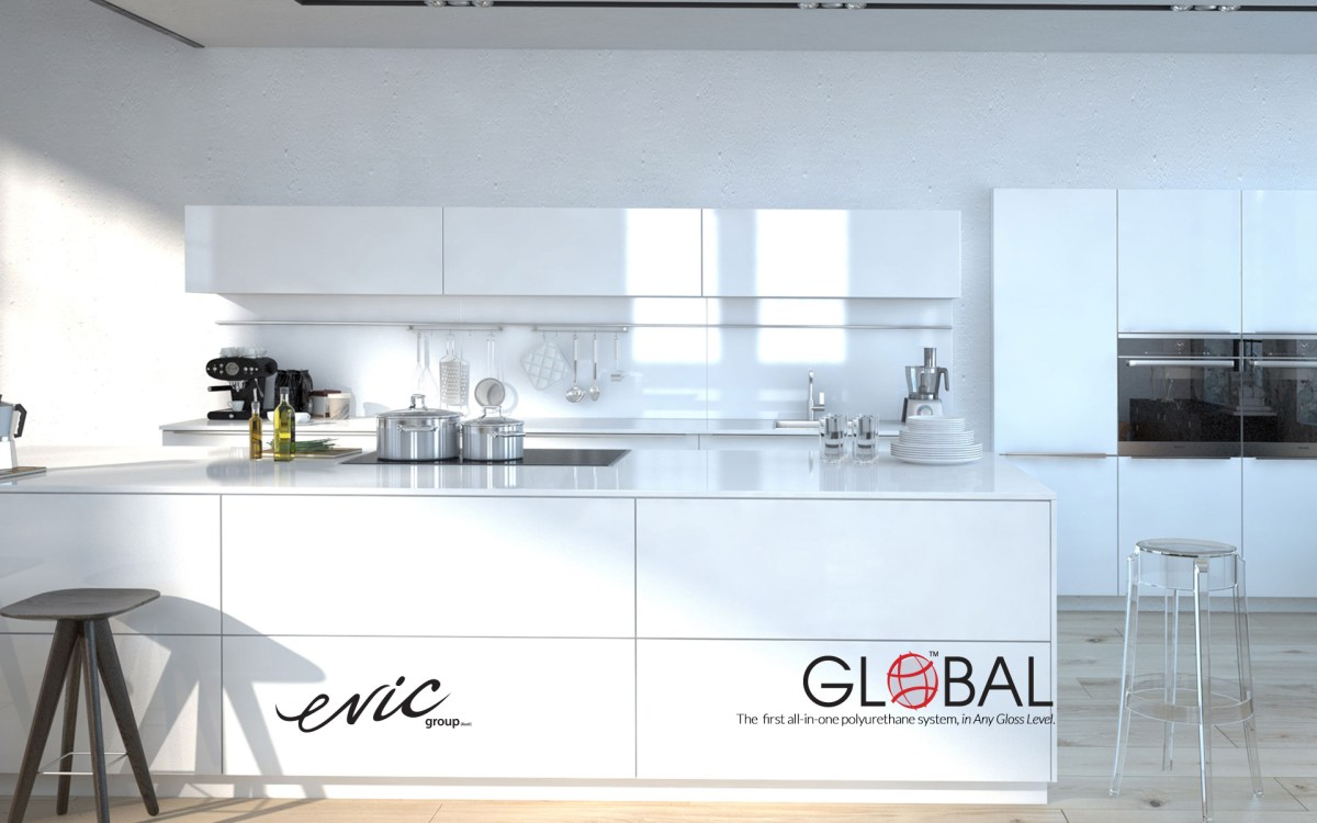 Drummoyne Kitchen featuring 1600 Global Polyurethane