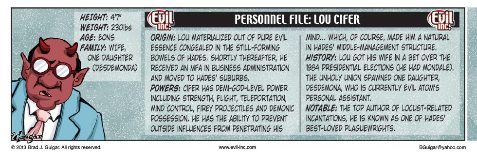 Personnel File: Lou Cifer